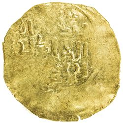 GREAT MONGOLS: Mongke, 1251-1260, AV broad dinar (4.76g), NM, ND. EF