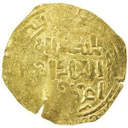 GREAT MONGOLS: Mongke, 1251-1260, AV broad dinar (4.34g), NM, ND. EF