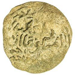 GREAT MONGOLS: Mongke, 1251-1260, AV broad dinar (4.30g), NM (Dhu'l-Hijja) AH[6]51. EF