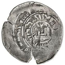 CHAGHATAYID KHANS: tamp. Qaidu, 1270-1302, AR dirham (1.85g), Almaligh, AH689. VF
