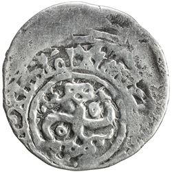 CHAGHATAYID KHANS: temp. Qaidu, 1270-1302, AR dirham (1.89g), Kenjde, AH696. VF