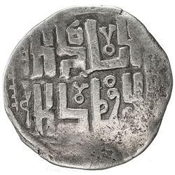 CHAGHATAYID KHANS: temp. Qaidu, 1270-1302, AR dirham (1.88g), Tashkent (Tashkand), ND. VF