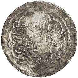 CHAGHATAYID KHANS: Qabul Khan, 1366-1368, AR dinar (7.74g), Badakhshan, ND. VF