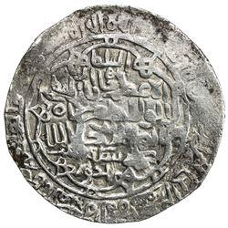 SHAHS OF BADAKHSHAN: Shah Baha al-Din, 1344-1358, AR dinar kebeki (7.43g), Khwast, ND. VF
