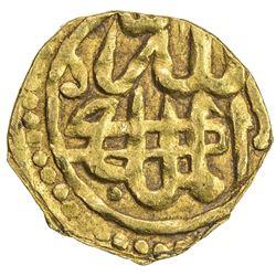 GOLDEN HORDE: temp. Toqtamish, 1376-1395, AV dinar (1.03g), Khwarizm, AH783. VF-EF