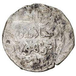 ILKHAN: Hulagu, 1256-1265, AR dirham (2.95g), Dimashq, AH658. VF-EF