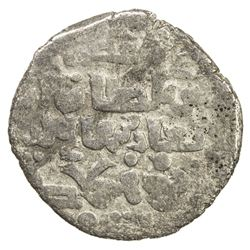 ILKHAN: Hulagu, 1256-1265, AR dirham (2.73g), Hamah, AH658. F-VF