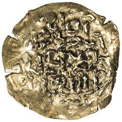 ILKHAN: Abaqa, 1265-1282, AV dinar (2.67g), Astarabad, ND. VF