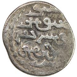 ILKHAN: Abaqa, 1265-1282, AR 1/2 dirham (1.19g), Tabriz, AH680. F