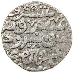 ILKHAN: Abaqa, 1265-1282, AR dirham (2.63g) (Sabzawar), AH67x. VF