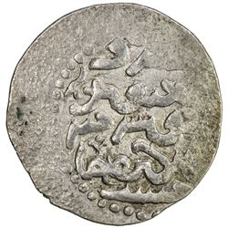 ILKHAN: Abaqa, 1265-1282, AR dirham (2.77g), Tus, AH(67)8. VF-EF