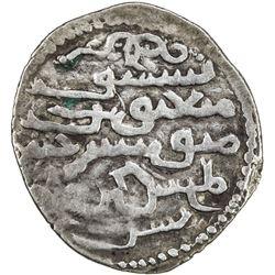 ILKHAN: Abaqa, 1265-1282, AR dirham (2.33g), [Tiflis], AH682 (sic). VF