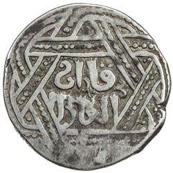 ILKHAN: Anonymous Qa'an al-'Adil, AR kaaniki dirham (2.53g), [Tiflis], AH665. VF