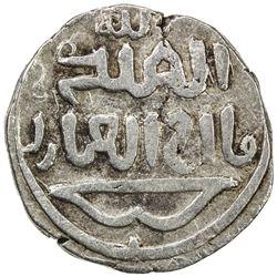 ILKHAN: Anonymous Qa'an al-'Adil, AR dirham (2.71g), Marw, AH(6)79. VF