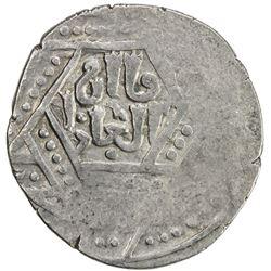 ILKHAN: Anonymous Qa'an al-'Adil, AR dirham (2.85g), Tus, AH(67)4. VF