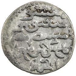 ILKHAN: Ahmad Tekudar, 1282-1284, AR dirham (2.42g), Tabriz, AH68x. VF