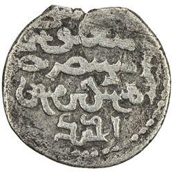 ILKHAN: Ahmad Tekudar, 1282-1284, AR 1/2 dirham (1.04g), Tabriz, AH(68)3. F-VF