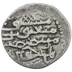 ILKHAN: Ahmad Tekudar, 1282-1284, AR dirham (2.42g), [Tiflis], AH68x. VF