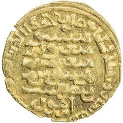 ILKHAN: Arghun, 1284-1291, AV heavy dinar (5.53g) (Baghdad), AH688. EF-AU