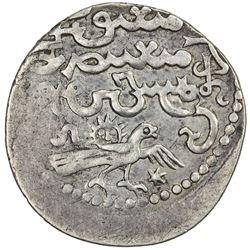 ILKHAN: Arghun, 1284-1291, AR dirham (2.52g), Tabriz, AH688. VF