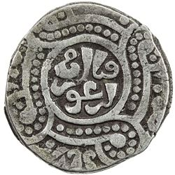 ILKHAN: Arghun, 1284-1291, AR dirham (2.77g), Astarabad, AH(6)86. VF-EF