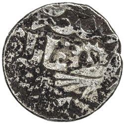 ILKHAN: Arghun, 1284-1291, AR 1/2 dirham (0.96g) (Astarabad), DM. F