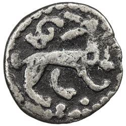 ILKHAN: Arghun, 1284-1291, AR 1/6 dirham (0.55g), Tabriz, ND. F-VF