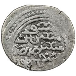 ILKHAN: Arghun, 1284-1291, AR dirham (2.73g), Jurjan, AH689. VF