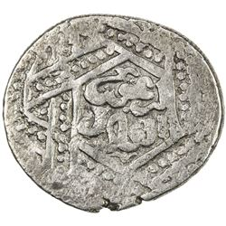 ILKHAN: Arghun, 1284-1291, AR dirham (2.47g), Damghan, AH68x. VF