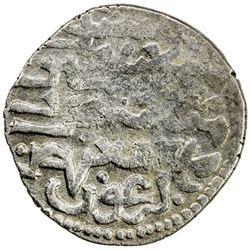 ILKHAN: Arghun, 1284-1291, AR dirham (2.31g), Tus, ND. VF