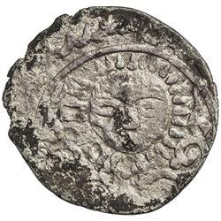 ILKHAN: Arghun, 1284-1291, AR dirham (1.99g), Nishapur, ND. VF