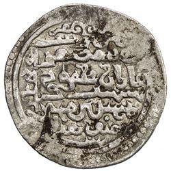 ILKHAN: Ghazan Mahmud, AR 1/2 dirham (1.06g), Baghdad, AH700. VF