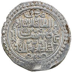 ILKHAN: Abu Sa'id, 1316-1335, AR 6 dirhams (8.65g), Bazar (the military mint), Khani 33. VF-EF