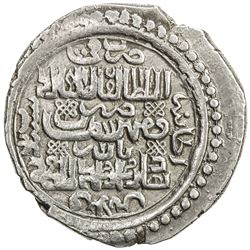 ILKHAN: Abu Sa'id, 1316-1335, AR 6 dirhams (8.46g), Bazar (the military mint), Khani 33. VF-EF
