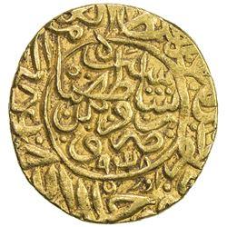 SAFAVID: Tahmasp I, 1524-1576, AV heavy ashrafi (3.87g), Qazwin, AH939. VF-EF