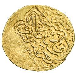 SAFAVID: Tahmasp I, 1524-1576, AV 1/2 mithqal (2.30g), NM, ND. VF-EF