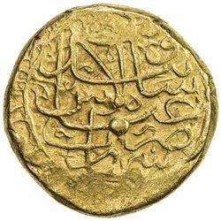 SAFAVID: 'Abbas I, 1588-1629, AV 2 mithqal (9.11g), Simnan, ND. VF-EF