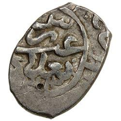 SAFAVID: 'Abbas I, 1588-1629, AR bisti (0.78g), Baghdad, AH1033. VF