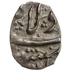 SAFAVID: 'Abbas I, 1588-1629, AR bisti (0.77g), Mashhad, AH(10)37. EF