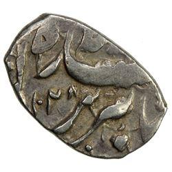 SAFAVID: 'Abbas I, 1588-1629, AR bisti (0.76g), Tabriz, AH1028. VF-EF