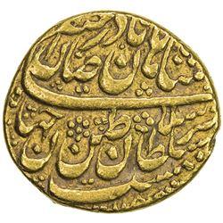 AFSHARID: Nadir Shah, 1735-1747, AV mohur (10.98g), Mashhad, AH115x. VF