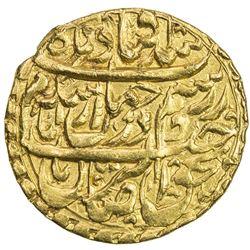 QAJAR: Agha Muhammad Khan, 1779-1797, AV 1/2 toman (4.05g), Kashan, AH1206. UNC