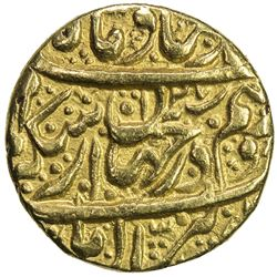 QAJAR: Agha Muhammad Khan, 1779-1797, AV 1/2 toman (4.00g), Rasht, AH1207. EF