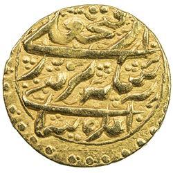 QAJAR: Fath 'Ali Shah, 1797-1834, AV 1/2 toman (2.99g), Rasht, AH1213. VF-EF