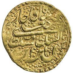 QAJAR: Fath 'Ali Shah, 1797-1834, AV toman (4.60g), Isfahan, AH1231. VF