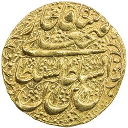 QAJAR: Fath 'Ali Shah, 1797-1834, AV toman (4.59g), Tehran, AH1233. EF-AU