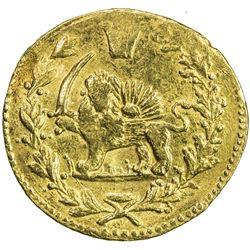 QAJAR: Muhammad Shah, 1837-1848, AV toman (3.45g), Tehran, AH1263. VF