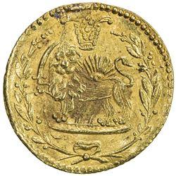 QAJAR: Muhammad Shah, 1837-1848, AV toman (3.45g), Tehran, AH1264. VF-EF