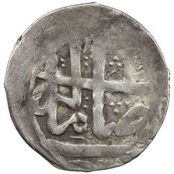SHIRVAN: Qasim Khan, 1789-1794, AR abbasi (2.28g), Shamakhi (Shemakha), AH1203. VF