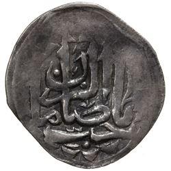 SHIRVAN: Mustafa Khan, 1794-1820, AR abbasi (2.27g), Shamakhi, AH1227. VF